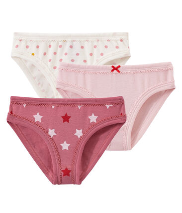 Little girl's pants trio