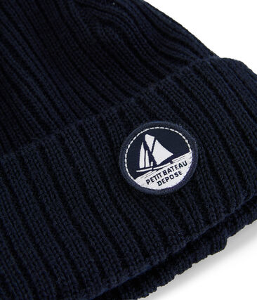 Unisex Woolly Hat Smoking blue