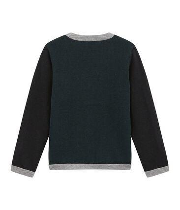 Boy's wool blend cardigan