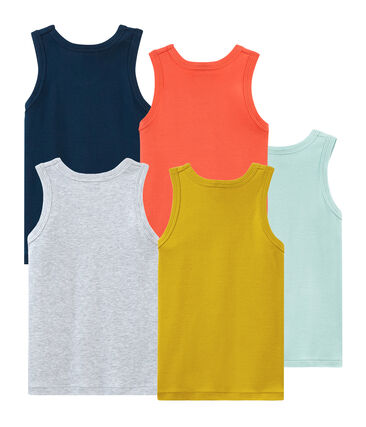 Boys' sleeveless vests - Set of 5
