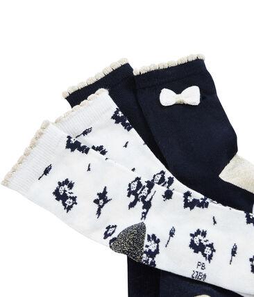 Girls' Socks - 2-Piece Set . set