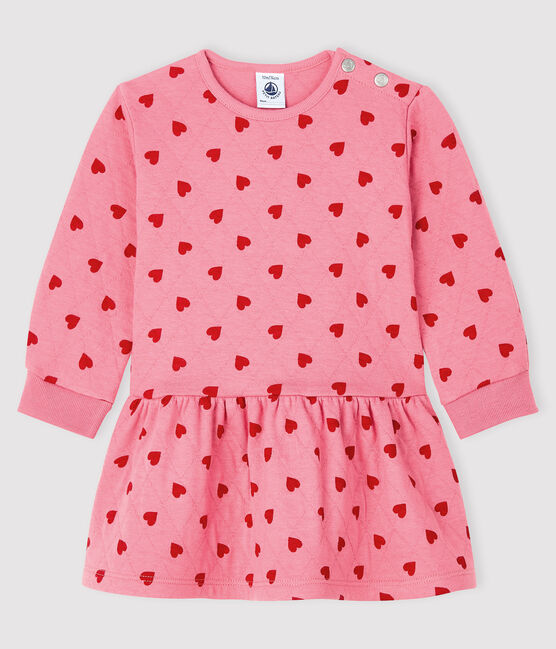 Baby girl's long-sleeved dress CHEEK/TERKUIT