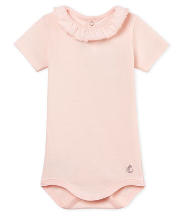 Baby girls' bodysuit with ruff