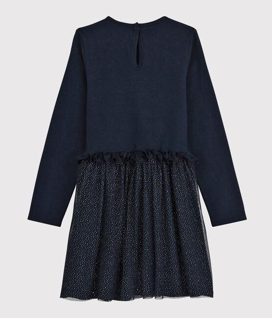 Girls' Long-Sleeved Dress SMOKING