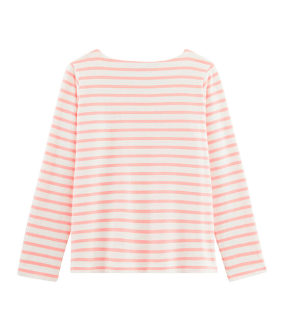Women's Sailor Top Marshmallow white / Patience pink