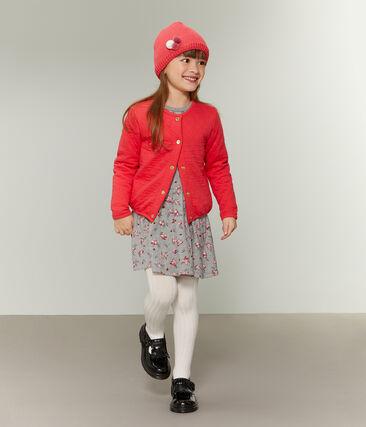 Girls' Cardigan Signal red