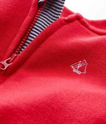 Baby boys' zipped Sweatshirt cardigan