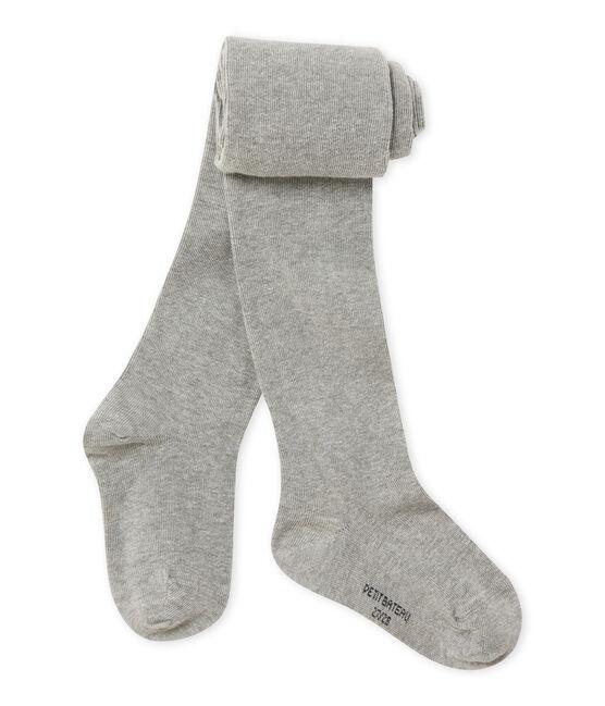 Girl's tights Subway Chine grey
