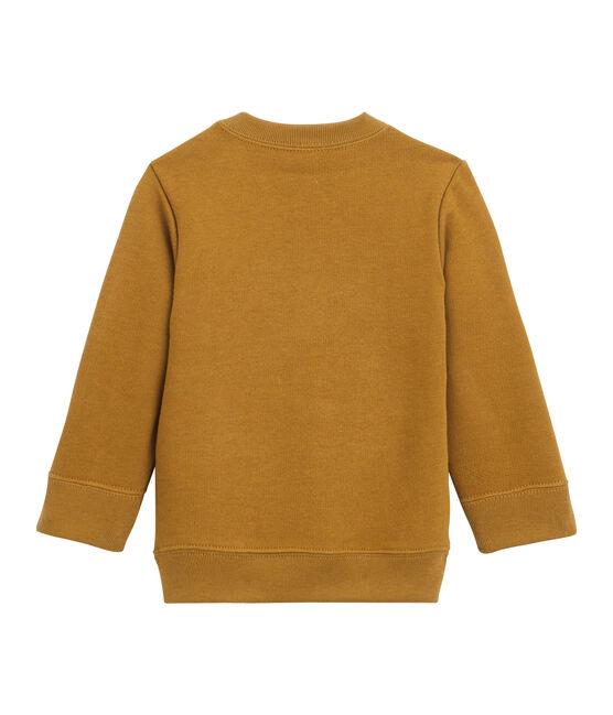 Baby Boys' Fleece Sweatshirt Cuivre brown