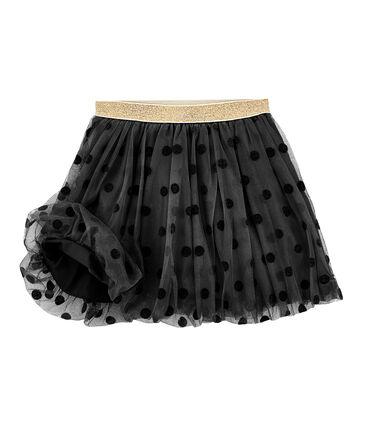 Girls' Tulle Skirt Capecod grey