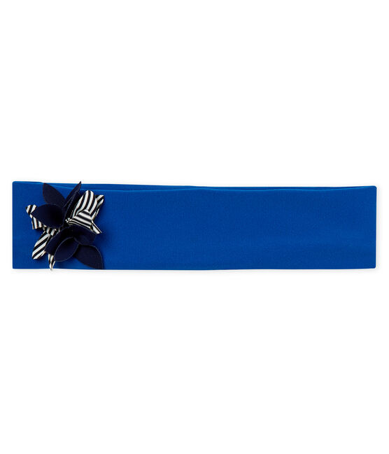 Baby girls' headband Riyadh blue