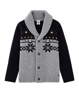 Boys' Knit Cardigan