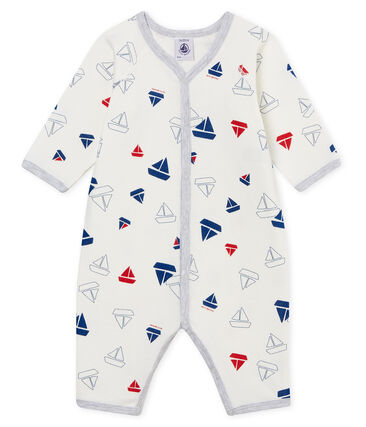 Baby Boys' Tube Knit Footless Sleepsuit