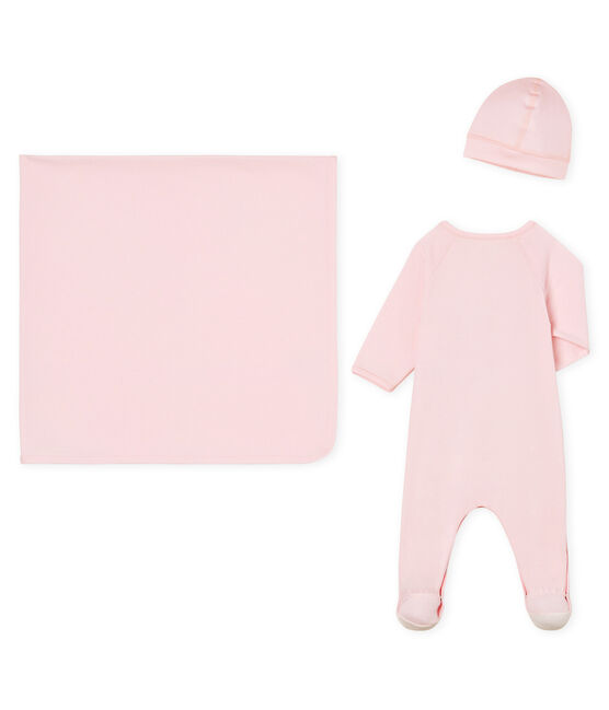 Unisex baby 3-piece gift box . set