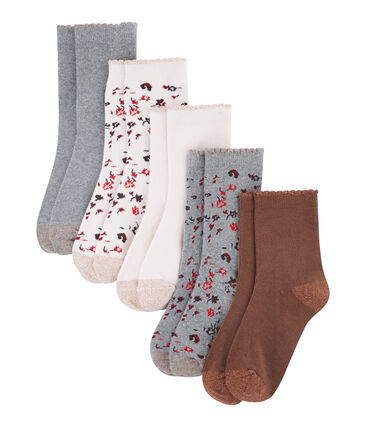 Girls' Socks - 5-Piece Set