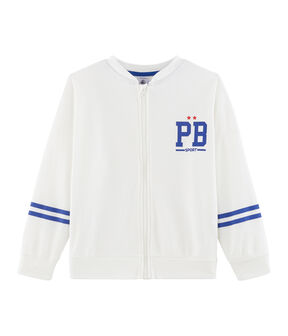 Boys' Cardigan Marshmallow white