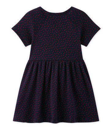Baby girl's print dress