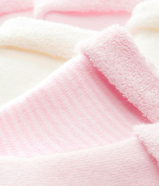 Set of 3 pairs of unisex baby's socks . set