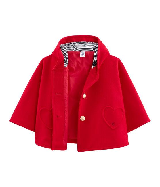 Girls' Cape Terkuit red