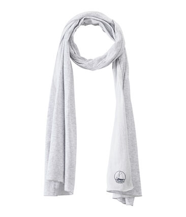 Women's scarf in an extra-fine tube knit