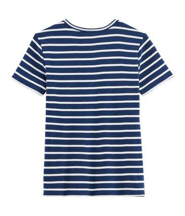 Women's Iconic T-Shirt Medieval blue / Marshmallow white