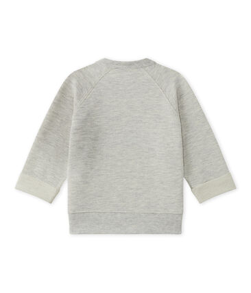 Baby boy's cotton fleece sweatshirt