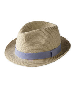 Baby boys' straw hat