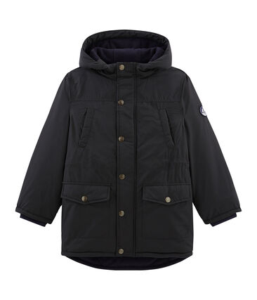 Boys' Feather and Down Coat Capecod grey