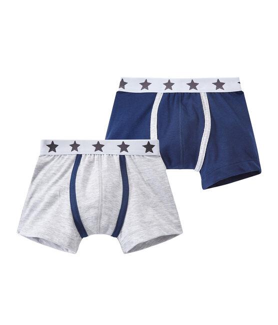 Set of 2 boys' boxers . set