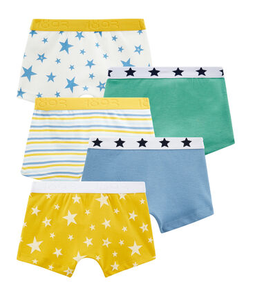 Boys' Boxer Shorts - Set of 5