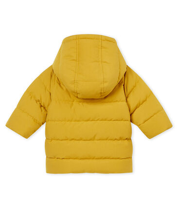 Baby boy's padded microfibre jacket