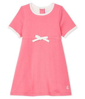 Baby Girls' Short-Sleeved Bodysuit/Dress Cupcake pink