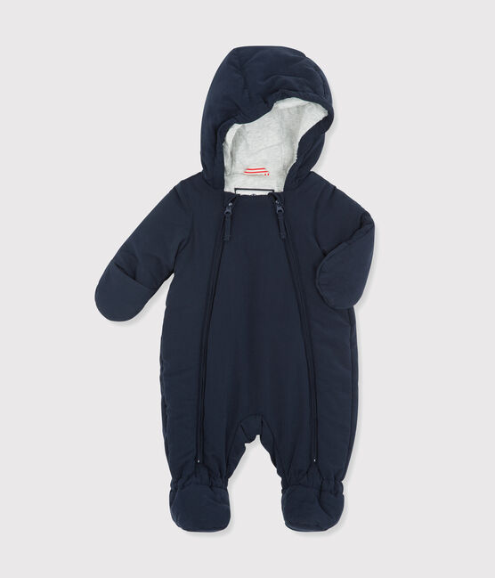 Babies' Unisex Microfibre Snowsuit Abysse blue