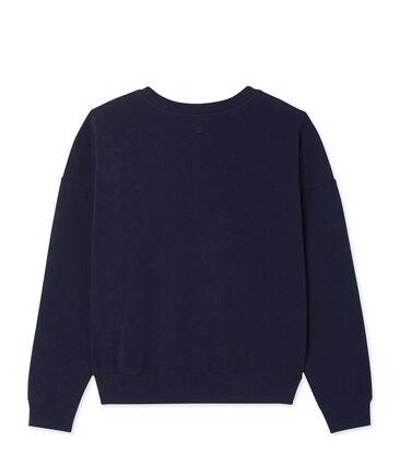 Women's stretch cotton sweatshirt