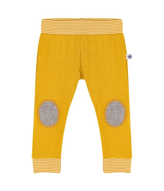 Baby Tube Knit Trousers Boudor yellow