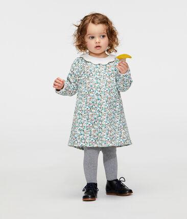Baby Girls' Long-Sleeved Print Dress