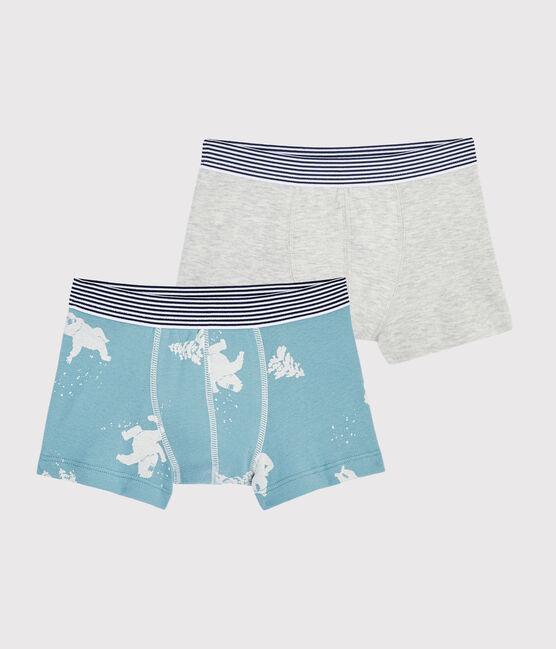 Boys' Yeti Print Boxer Shorts - 2-Piece Set . set