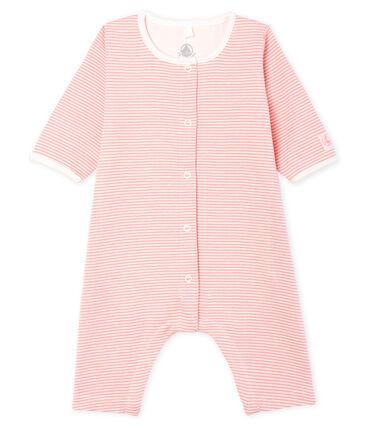 Baby Girls' Footless Ribbed Bodyjama