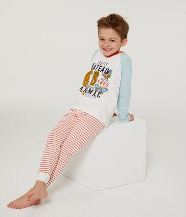 Boys' Pyjamas Marshmallow white / Multico white
