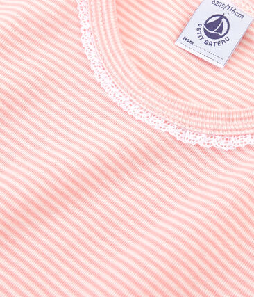 Girls' Pyjamas Rosako pink / Marshmallow white