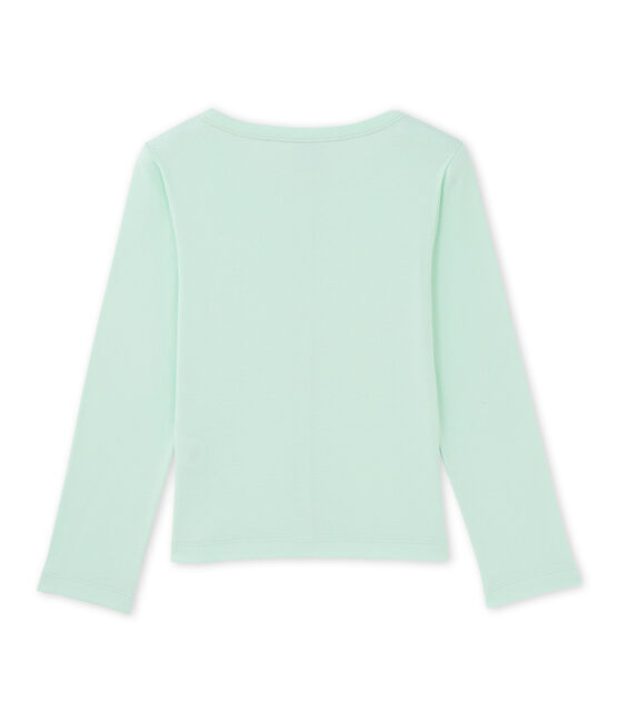 Girls' cardigan Amandelium green