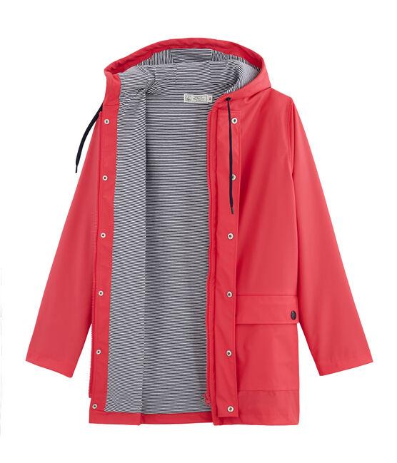 Unisex Raincoat Signal red