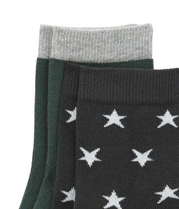 Set of 2 pairs of socks