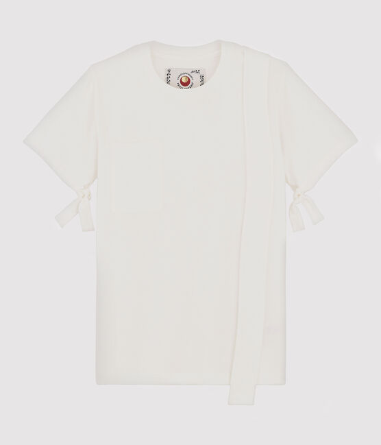 Women's/Men's T-shirt Christoph Rumpf x Petit Bateau Marshmallow white