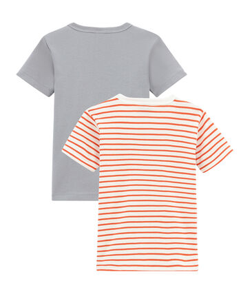 Little boy's short sleeved tee-shirtduo