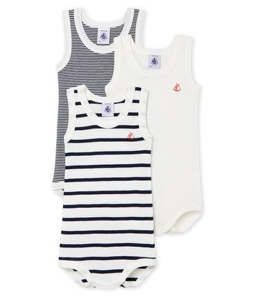 Unisex Babies' Sleeveless Bodysuit - Set of 3 . set