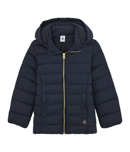 Girls' Down Coat Smoking blue