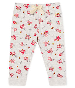 Baby Girls' Printed Tube Knit Trousers