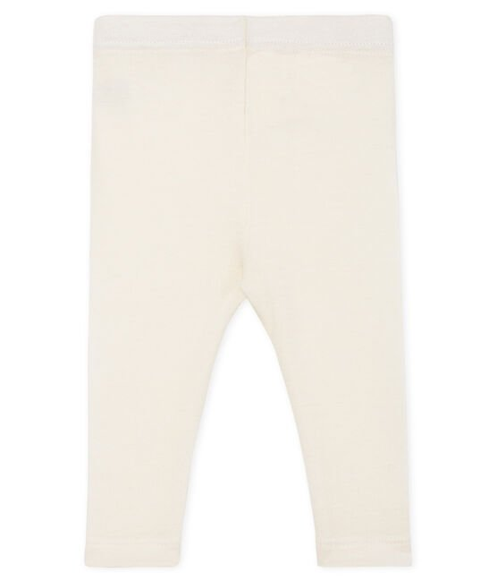 Wool and cotton babies' underwear Marshmallow white