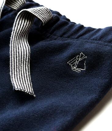 Baby boys' plain light fleece trousers